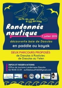 affiche Au Fil de l'Eau A-hed an Dour 2019